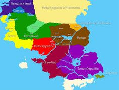 Suikoden World Map. It\'s quite possible that my favorite game of all ...