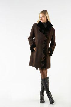 Blue Duck Shearling Coat