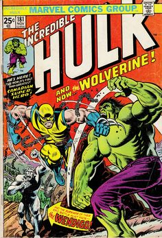 The Incredible Hulk #181 1st Wolverine Story