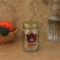 Auburn Tigers Lidded Mason Jar! you cando this with any school decal