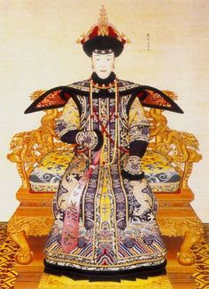 Portrait of a Queen of the Qing Dynasty