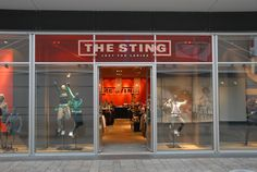 Duidelijke kleurcombinatie en logo, sterke presentatie van The Sting
