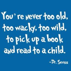 Reading to children is SO important!
