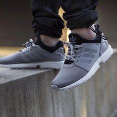 adidas Originals ZX Flux NPS: Grey Adidas Co, Adidas Zx Flux, New Shoes, Men's Shoes, Shoes Sneakers, Shoes Style, Adidas Originals Zx Flux, Baskets, Fashion Shoes