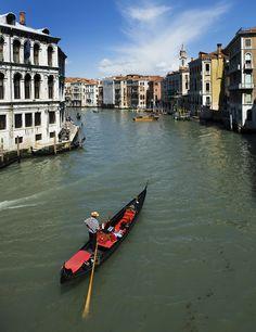 Grand Canal, Venice,Italy: