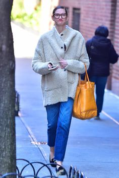 Jenna Lyons is seen in the East Village on February 28 2017 in New York City