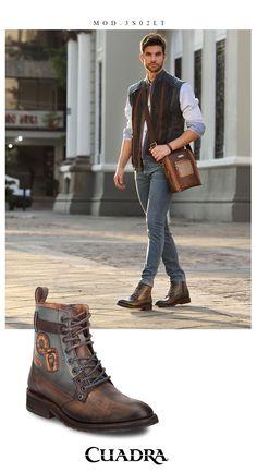 ae6867b4 La comodidad acompañada de estilo #menstyle #hombre #botas #estilo #fashion  #moda #cuadra #shoes