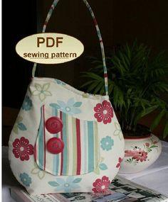 Charlie's Aunt Sophia Bag - Downloadable Pattern - Click Image to Close