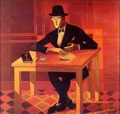 Retrato de Fernando Pessoa. Almada Negreiros, 1954