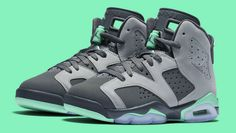 Air Jordan 6 GG Green Glow Air Jordan Vi 83b77127a