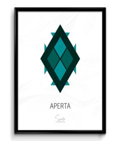 APERTA - Open and free ( A2 42x59,40 Cm )