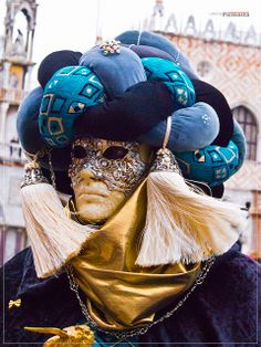 Carnival in Venice by picmasta Mardi Gras Carnival, Venetian Carnival Masks, Carnival Of Venice, Plus Size Mens Clothing, Clothes For Big Men, Beautiful Mask, Carnival Costumes, Masquerade Ball, Victor Hugo
