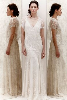 Beaded Bohemian Lace Wedding Gown from Jenny Packham