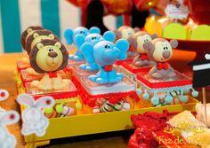 Decoração Circo do Mickey - Faz de Conta Artesanato e Decoração