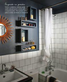 Organização no Banheiro