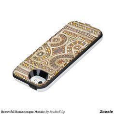 Beautiful Romanesque Mosaic Uncommon Power Gallery™ iPhone 5 Battery Case