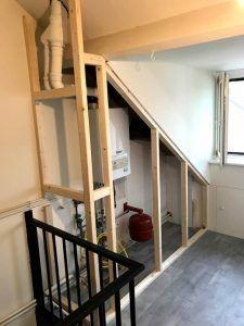 Attic Renovation, Attic Remodel, Attic Spaces, Attic Rooms, Dispositions Chambre, Attic Bathroom, Dyi Bathroom, Bedroom Layouts, Interior Design Living Room