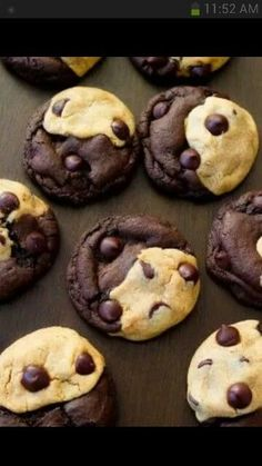 These chocolate chip cookies look really good