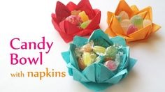 13+ Cool paper napkin craft ideas - Illustrate Better! - diy crafts candy bowl with paper napkins innova crafts youtube. Find another ideas about  #papernapkincraftideas form our gallery.