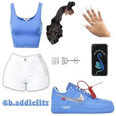 Swag Outfits For Girls, Cute Swag Outfits, Teenage Girl Outfits, Teen Fashion Outfits, Dope Outfits, Summer Swag Outfits, Fashion Tips, Baddie Outfits Casual, Jugend Mode Outfits