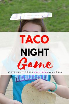 Hilarious Hysterical Taco Game for Kids or Adults #party #game #fun #taconight