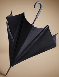 Sartorial men's umbrella in college blue from the Burberry A/W13 accessories collection