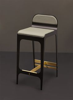 MODERN BARSTOOL| Bardot Barstool  | www.bocadolobo.com/ #modernchairs #chairideas