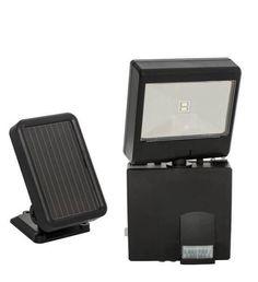 Solar LED Security Spotlight