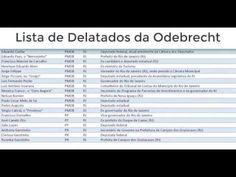 LISTA!!  ODEBRECHT  AQUI MOSTRA O NOME DE POLITICOS CITADOS NA DELAÇAO!!! Vows, News