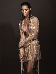 Meet Alexis Primous, the winner of W Magazine's Instagram model search. See her first-ever photo shoot on wmag.com.