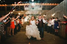 Texas Country Wedding With Vintage Decorations - Rustic Wedding Chic