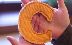 Make Your Own Fabric Alphabet - An All About Preschool Activity