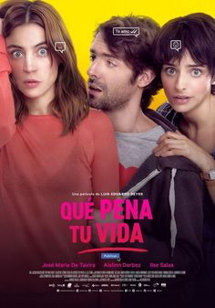 QUE PENA TU VIDA An insecure, heartbroken guy tries to get back with her last love with the help of his corky friend, taking a path of poor decisions which lead him to understand himself and others. Buy Movies, Movies To Watch, Internet Movies, Love Film, Movies Showing, The Help, Movie Tv, Guys, Movie Posters