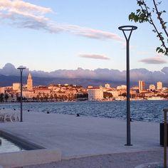 CROACIA Split Croatia, New York Skyline, Most Beautiful, Celestial, Sunset, World, Nasa, Travel, Outdoor