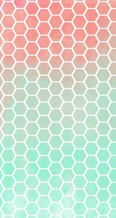 Bee hive ombre wallpaper♥♥