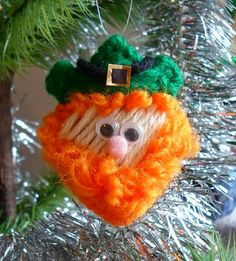 """Waaay back in the 80's I was asked to make 150 of these plastic canvas """"squeeze cheeks"""" ornaments for a Christmas party, in a Santa design. ..."""