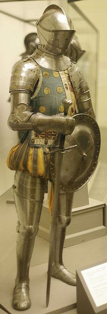 Armour of Don Sancho de Avila Germany (Augsburg), 1560.