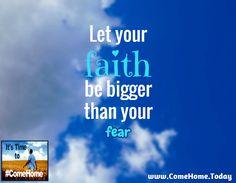 Fear Not, Only Believe