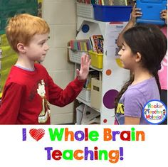 I have started using whole brain teaching in my classroom and it has changed my life! The kids do such a great job and love it too!