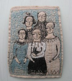 Absolutely gorgeous textile art pieces from Cathy Cullis: I love the way her pieces are both intricate and delicate at the same time – truly beautiful work. Some of her pieces are available through her etsy store, and you can also view her gallery here and follow her blog right here. {all images by Cathy …