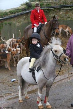 Hope this child was not shown fox hunting.....and be taught that hunting and killing animals is sport.