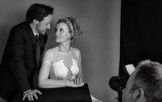 @BAFTA: James McAvoy & Anne-Marie Duff backstage at the #EEBAFTAs.