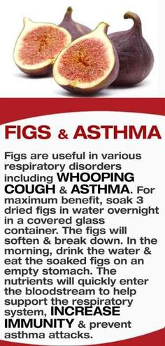 Figs are useful in various respiratory disorders including whooping cough & asthma. For maximum benefit, soak 3 dried figs in water overnight in a covered glass container. The figs will soften & break down. In the morning, drink the water & eat the soaked Arthritis Remedies, Herbal Remedies, Health Remedies, Cough Remedies, Health And Nutrition, Health And Wellness, Health Fitness, Natural Medicine, Herbal Medicine