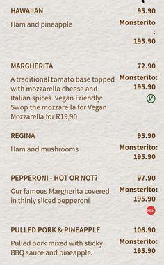 Vegan Mozzarella, Italian Spices, Vegan Friendly, Pepperoni, Stuffed Mushrooms, Menu, Creative, Stuff Mushrooms, Menu Board Design