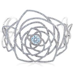 De Beers diamond cuff