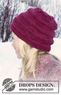 Ravelry: Child's Hat pattern by DROPS design Knitting Designs, Knitting Patterns Free, Knit Patterns, Free Knitting, Knitting Projects, Baby Knitting, Free Pattern, Knitted Hats Kids, Knitting For Kids