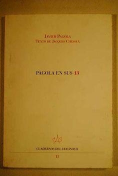 Pagola en sus 13 / Javier Pagola ; texto de Jacques Chessex