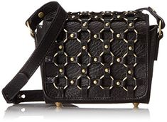 Ash Lulu Cross Body Bag, Black, One Size >>> See this great product.
