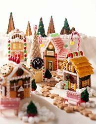 village of gingerbread!