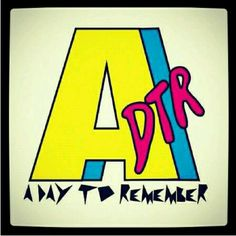 A Day To Remember I like this band a lot. It is a cool logo pic.